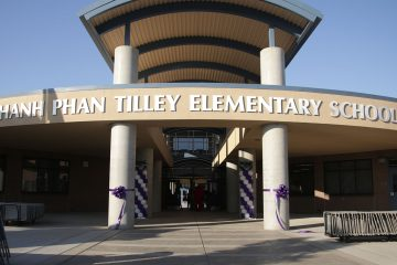 Photo of Tilley Elementary School's new building