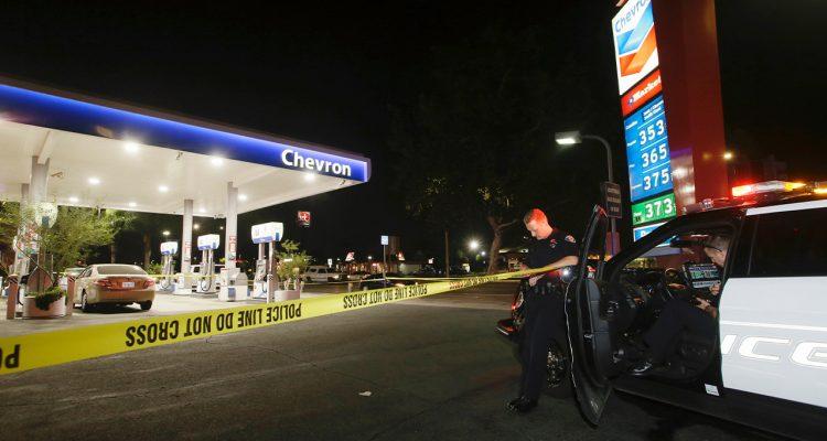 Photo of scene of SoCal stabbing