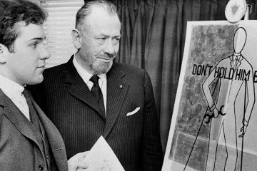 Photo of John Steinbeck and his son, Thomas
