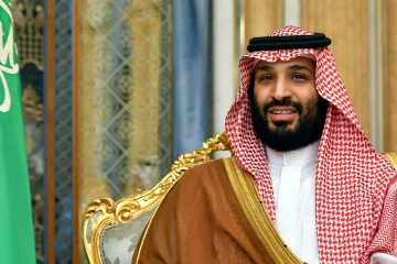 Photo of Saudi Crown Prince