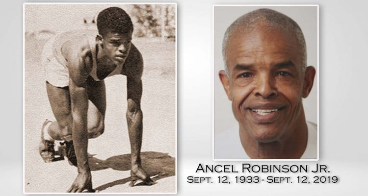 Photos of world record holder Ancel Robinson Jr.r