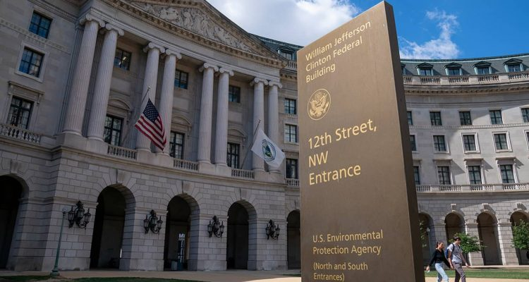 Photo of the headquarters of the Environmental Protection Agency