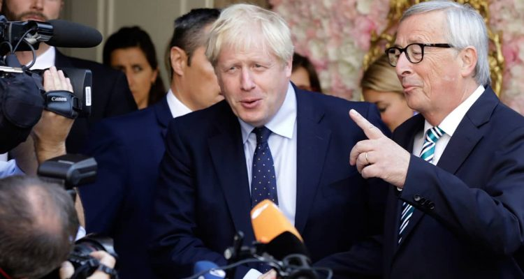 Photo of British Prime Minister Boris Johnson