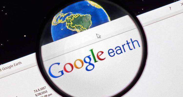 Photo of Google Earth