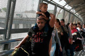 Photo of Cuban migrants