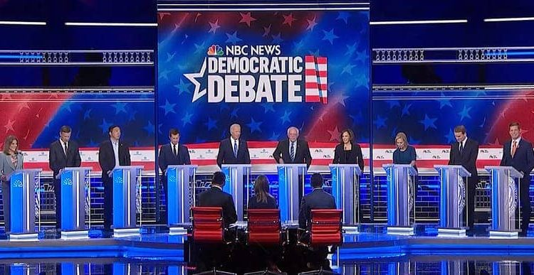 Photo of Democratic Debate