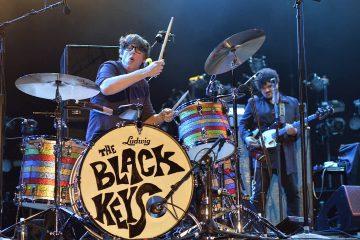 Photo of The Black Keys performing