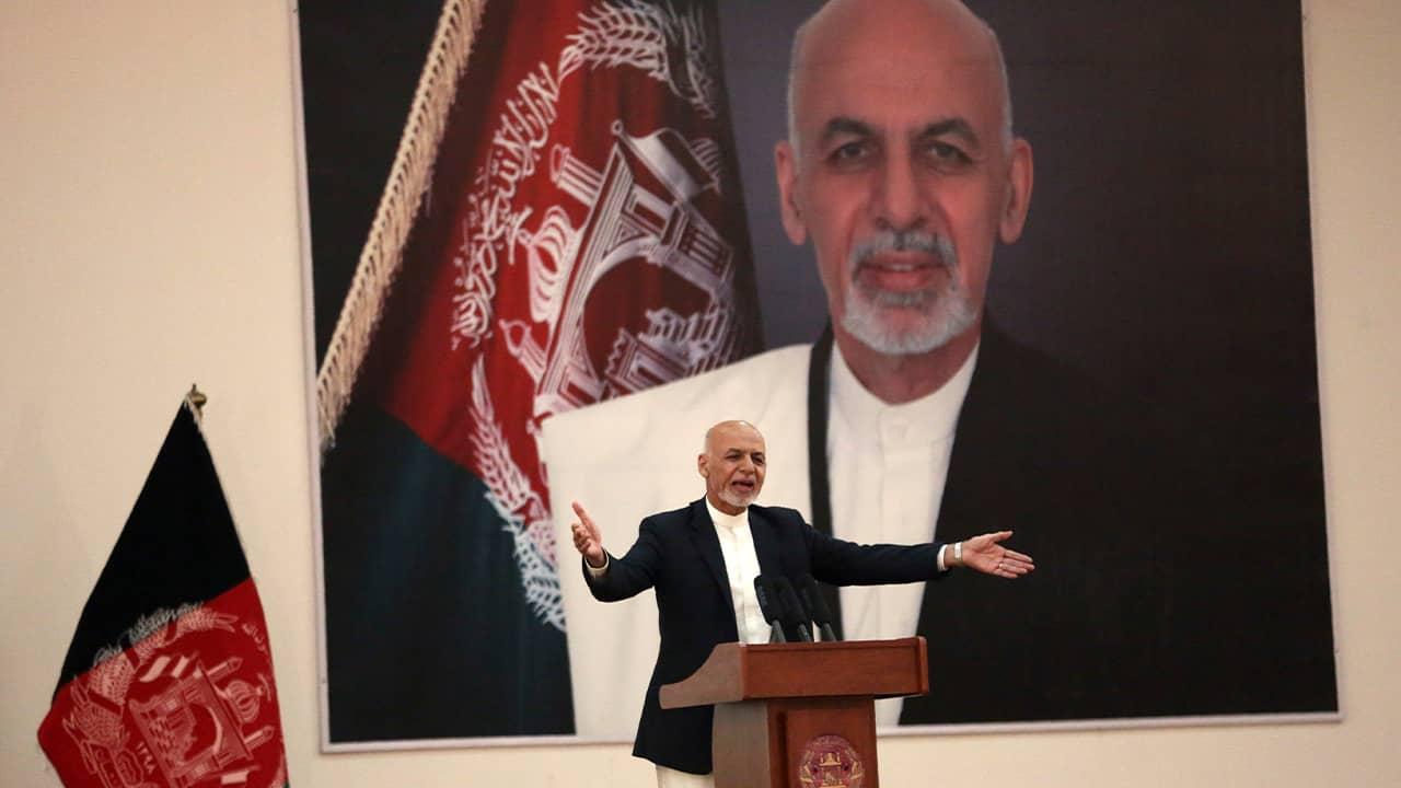 Photo of President Ashraf Ghani