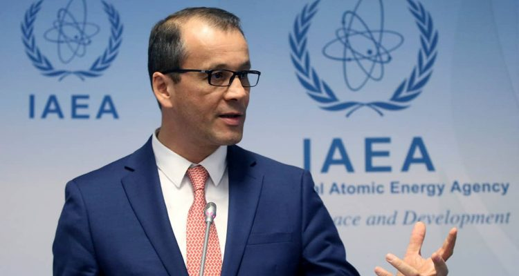 Photo of Acting Director General of the International Atomic Energy Agency (IAEA), Cornel Feruta