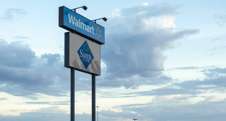 Photo of Walmart sign