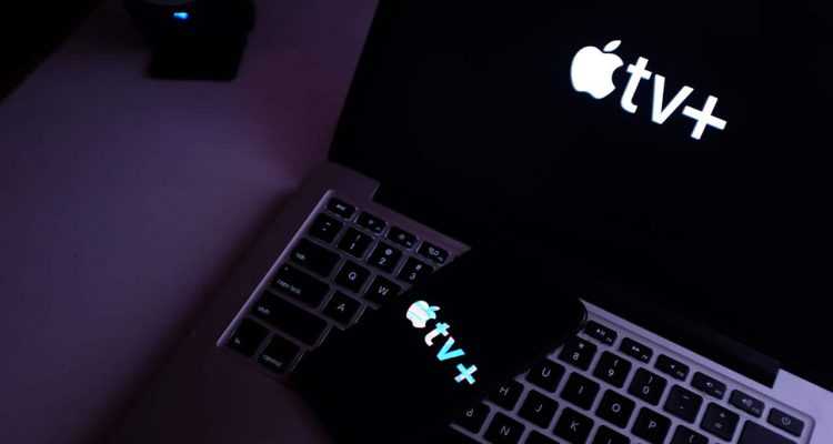 Photo of Apple TV Plus on an iPhone and laptop