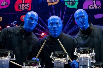 Photo of the Blue Man Group