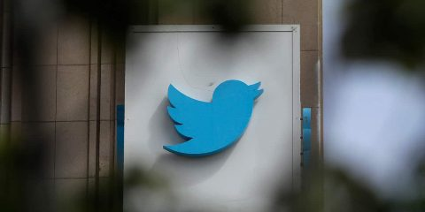 Photo of Twitter sign