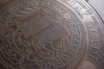Photo of University of California seal