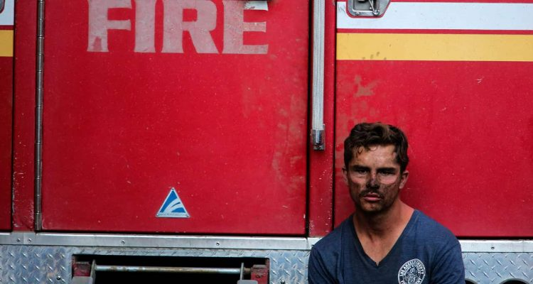 Photo of Los Angeles County firefighter Collin Bashara
