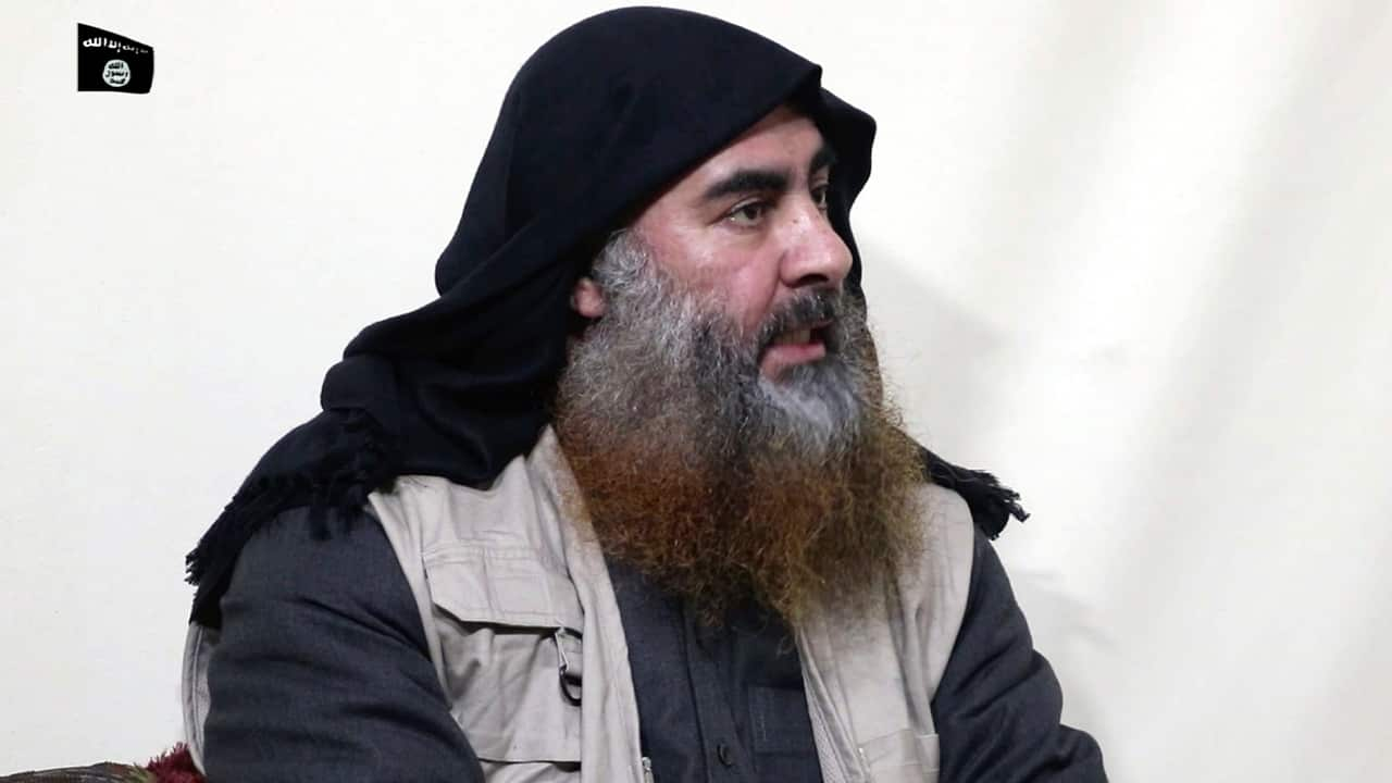 Photo of Abu Bakr al-Baghdadi