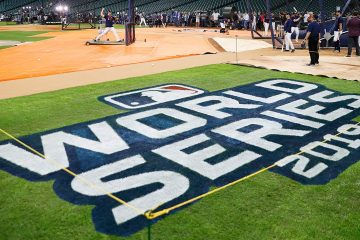 Photo of World Series on field