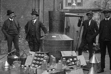 Photo of prohibition agents
