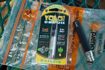 Photo of Yolo! brand CBD vape