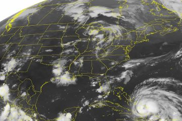 Photo of Hurricane Irene