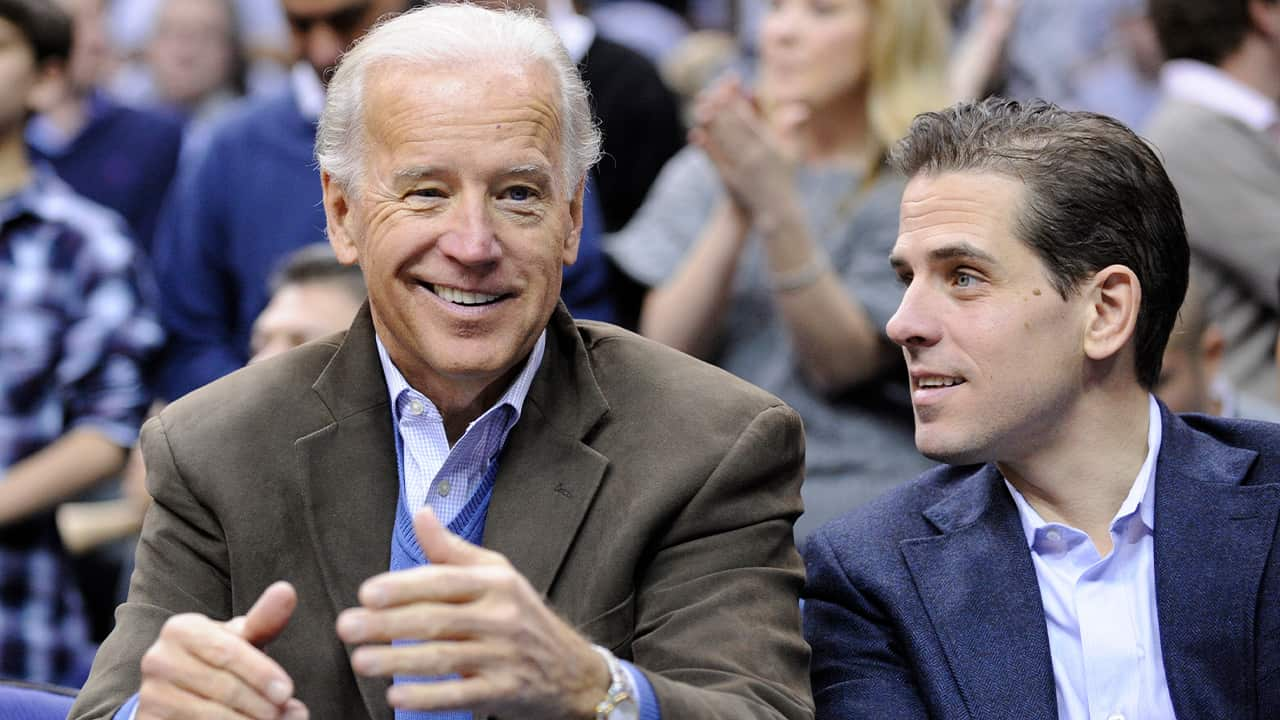 Photo of Joe Biden and Hunter Biden
