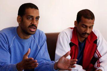 Photo of Alexanda Amon Kotey and El Shafee Elsheikh, who were among 4 British jihadis