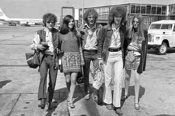 Photo of rock group Cream in 1967