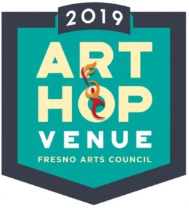 ArtHop 2019 Logo Fresno, California