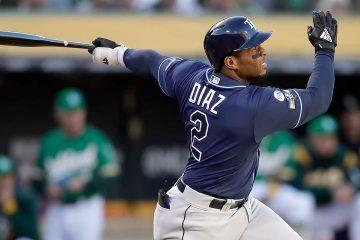 Photo of Tampa Bay Rays' Yandy Diaz