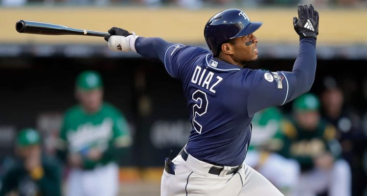 Photo of Tampa Bay Rays' Yandy Diaz