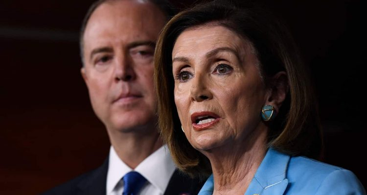 Photo of Nancy Pelosi and Adam Schiff