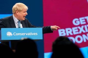 Photo of Britain's Prime Minister Boris Johnson