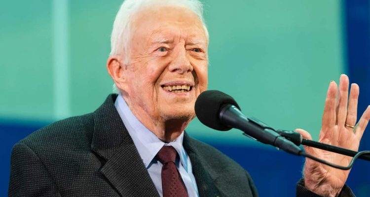Photo of former President Jimmy Carter