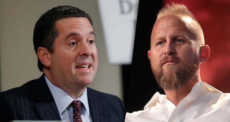 Composite images of Rep. Devin Nunes and Trump elections guru Brad Parscale