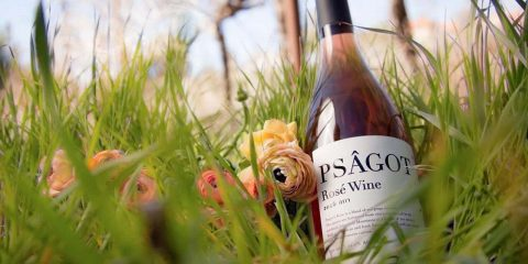 Photo of Psagot wine bottle