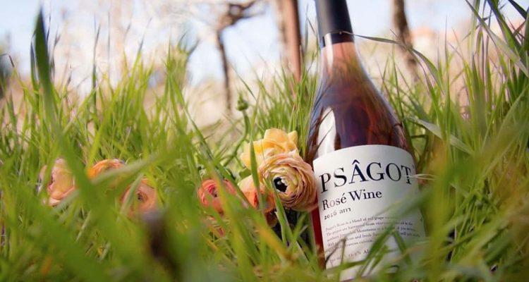 Photo of Psagot wine bottle