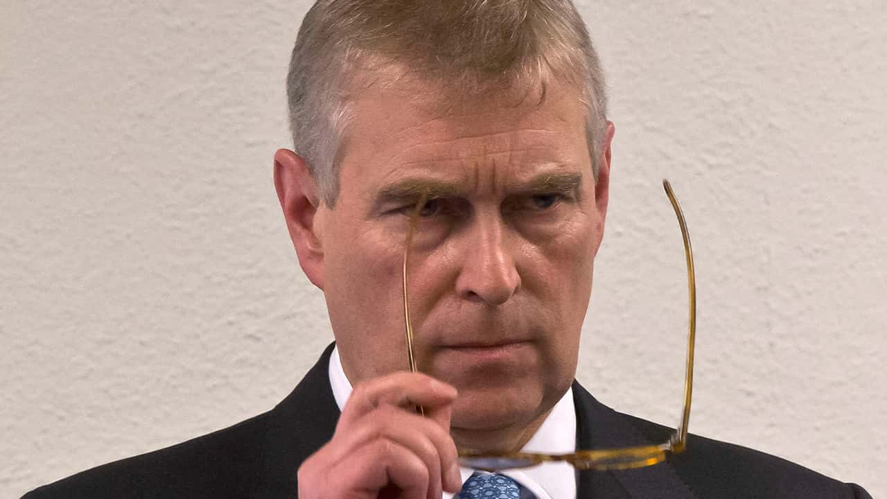 Photo of Prince Andrew in 2015