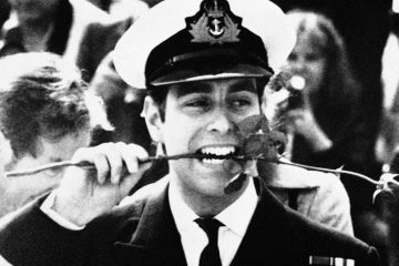 Photo of Prince Andrew in 1982