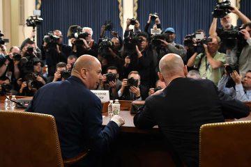 Photo of U.S. Ambassador to the European Union Gordon Sondland arriving to testify