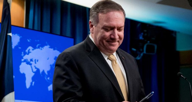 Photo of Secretary of State Mike Pompeo