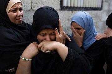 Photo of relatives of Jihad militant, Abdullah Al-Belbesi