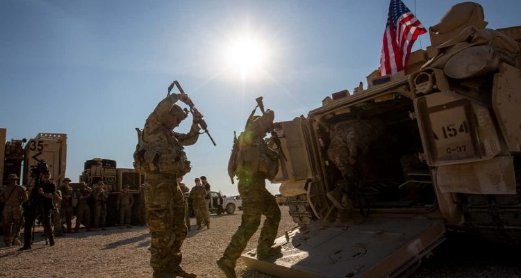 Photo of U.S. troops in Syria