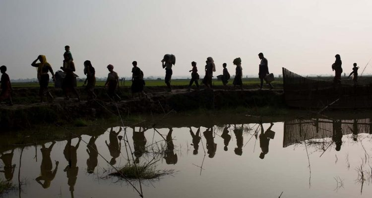 Photo of Myanmar's Rohingya ethnic minority