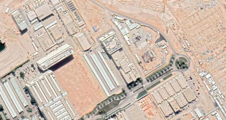 Photo of the nuclear reactor site in King Abdulaziz