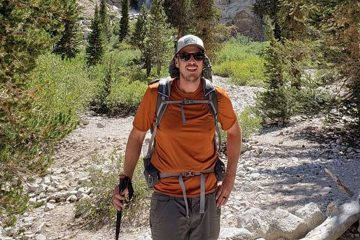 Photo of hiker Alan Stringer, who was found dead in Kings Canyon National Park