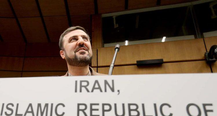 Photo of Iran's Ambassador to the International Atomic Energy Agency, IAEA, Gharib Abadi
