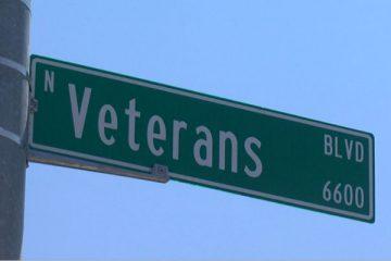 Photo of Veterans Boulevard in Fresno