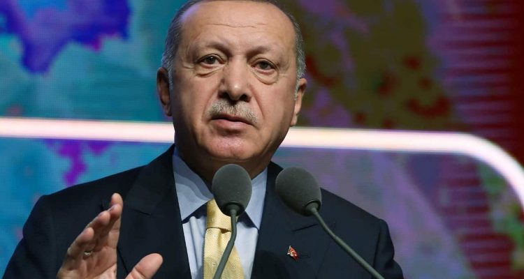 Photo of Turkish President Recep Tayyip Erdogan