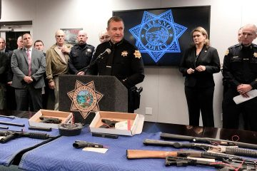 Photo of Fresno Police Chief Andy Hall