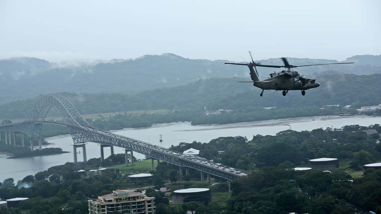 Photo of the Panama Canal